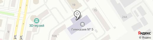 Центр внешкольной работы на карте Норильска