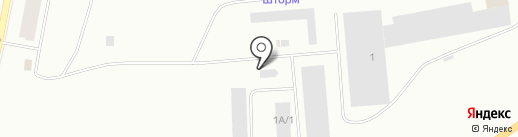 Тингер на карте Норильска