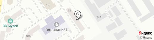 Черепашка на карте Норильска