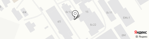 Тройка на карте Норильска