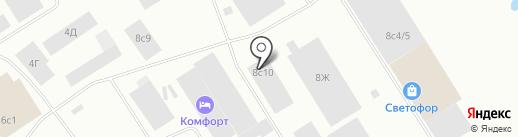 Автодом на карте Норильска