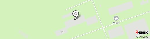 Управление по делам ГО и ЧС на карте Норильска