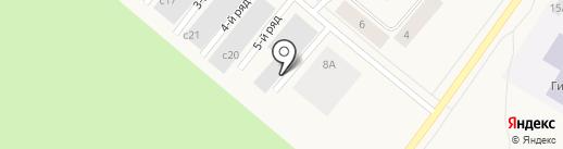 Автосервис на карте Норильска