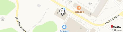Магазин обуви на карте Норильска