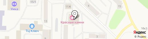 Сладкий бархат на карте Норильска