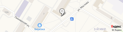 Черёмушки на карте Норильска