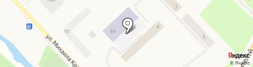 Средняя общеобразовательная школа №27 на карте Норильска