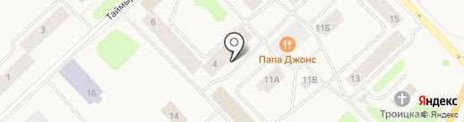 Магазин-кулинария на Таймырской на карте Норильска