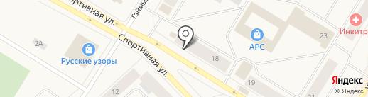 Магазин текстиля для дома на карте Норильска