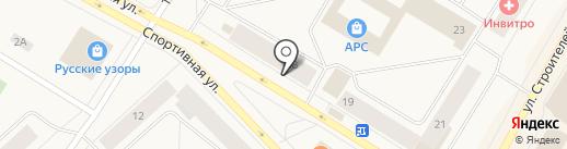 Байкова Г.В. на карте Норильска