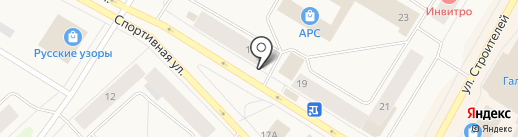 Магазин женского белья на карте Норильска