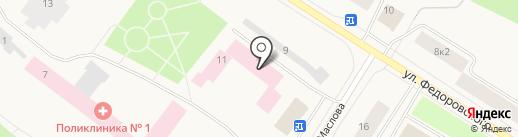 Норильская городская поликлиника №2 на карте Норильска