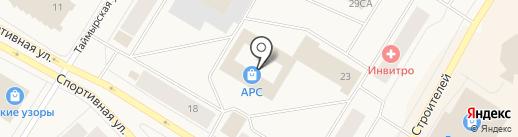 Алекса на карте Норильска
