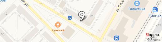 Алиса-АртПостель на карте Норильска