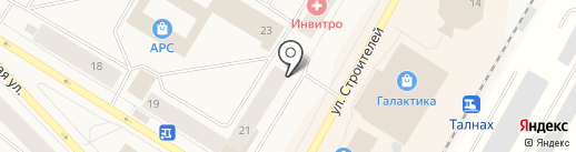 24 часа на карте Норильска