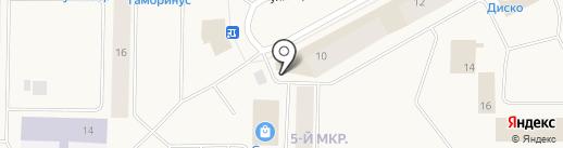Лекарь на карте Норильска