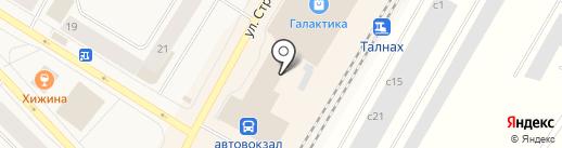 Трикотаж, магазин одежды на карте Норильска