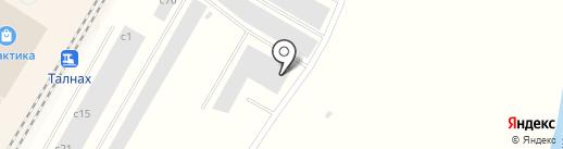 Батурина на карте Норильска