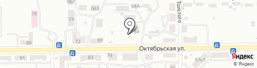 Салон красоты и грации на карте Черногорска