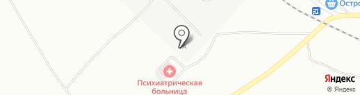Керамик на карте Черногорска