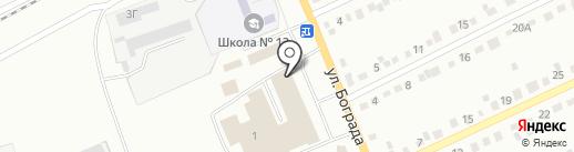 Светофор на карте Черногорска