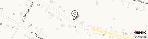 Автоград на карте Чапаево