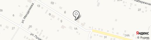 Велес на карте Чапаево