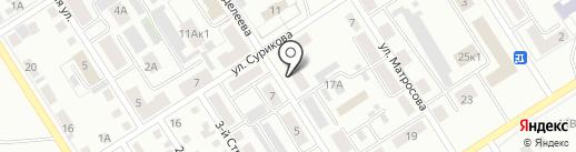 РОСГОССТРАХ, ПАО на карте Черногорска