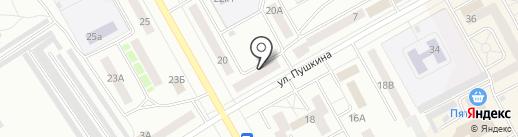Единый агент на карте Черногорска