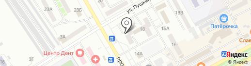 Русский Дом на карте Черногорска