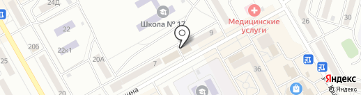 Почта банк, ПАО на карте Черногорска