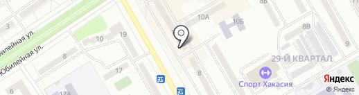Сбербанк, ПАО на карте Черногорска