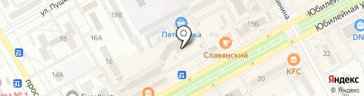 Android-market на карте Черногорска