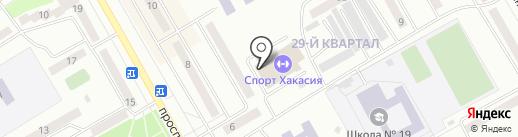 Фортуна+ на карте Черногорска