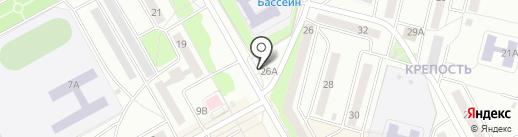 Mix на карте Черногорска
