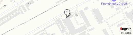 Картонная фабрика на карте Черногорска