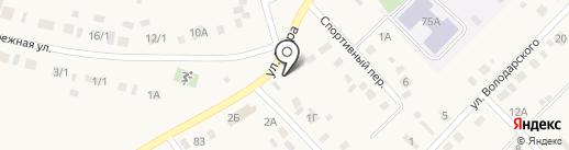 Центральный на карте Чапаево