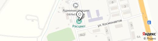 Усть-Абаканская библиотека на карте Расцвета