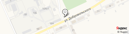 Околица на карте Усть-Абакана