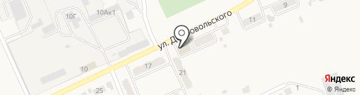 Янтарь на карте Усть-Абакана