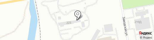 Керамзит на карте Абакана