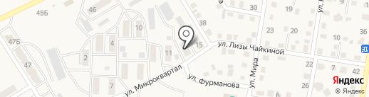 Тепловодоканал Усть-Абакан на карте Усть-Абакана