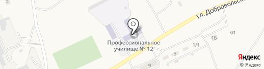 Хакасский политехнический колледж на карте Усть-Абакана