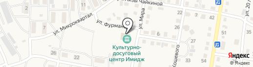 Участковый пункт полиции на карте Усть-Абакана