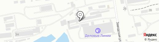 Механика на карте Абакана