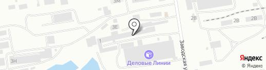 Техноколор-Абакан на карте Абакана