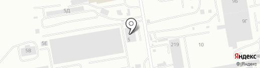 ЧерногорскКранСервис на карте Абакана