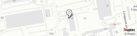 А1-ТрансКомплект на карте Абакана