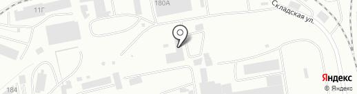 Абаканский керамзитовый завод на карте Абакана