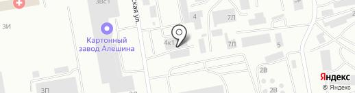 СТО на карте Абакана